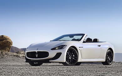 2013 Maserati GranCabrio MC wallpaper thumbnail.