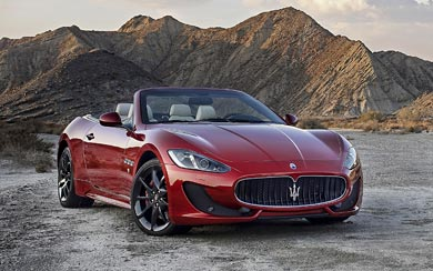 2013 Maserati GranCabrio Sport wallpaper thumbnail.