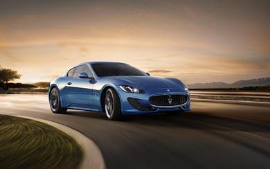 2013 Maserati GranTurismo Sport wallpaper thumbnail.