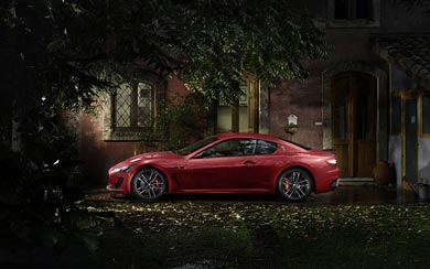2015 Maserati GranTurismo MC Stradale Centennial Edition wallpaper thumbnail.