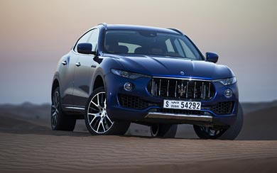 2017 Maserati Levante wallpaper thumbnail.