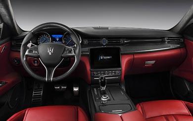 2017 Maserati Quattroporte GTS wallpaper thumbnail.