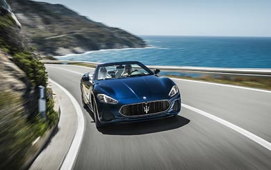 2018 Maserati GranCabrio Sport wallpaper thumbnail.