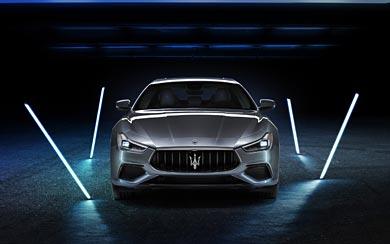 2021 Maserati Ghibli Hybrid wallpaper thumbnail.
