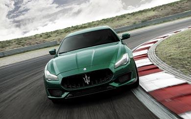 2021 Maserati Quattroporte Trofeo wallpaper thumbnail.