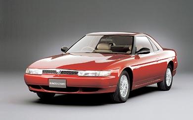 1990 Mazda Eunos Cosmo wallpaper thumbnail.