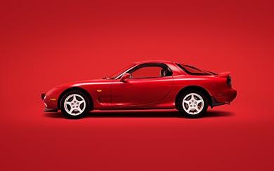 1991 Mazda RX-7 wallpaper thumbnail.