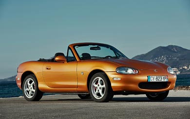 1998 Mazda MX-5 wallpaper thumbnail.