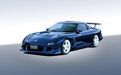 2002 Mazda RX-7 R Spec wallpaper thumbnail.