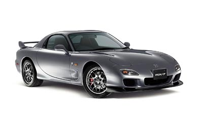 2002 Mazda RX-7 Spirit R wallpaper thumbnail.
