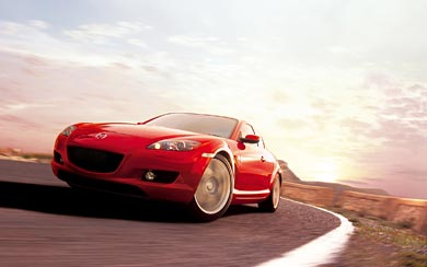 2003 Mazda RX-8 wallpaper thumbnail.