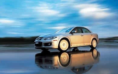 2004 Mazda 6 MPS wallpaper thumbnail.