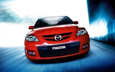 2006 Mazda 3 MPS wallpaper thumbnail.