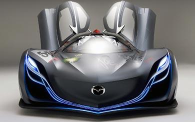 2008 Mazda Furai Concept wallpaper thumbnail.