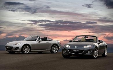 2008 Mazda MX-5 wallpaper thumbnail.