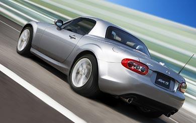 2009 Mazda MX-5 wallpaper thumbnail.