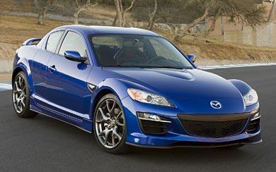 2009 Mazda RX-8 wallpaper thumbnail.