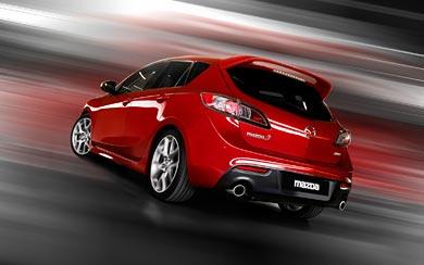 2010 Mazda 3 MPS wallpaper thumbnail.
