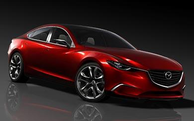 2011 Mazda Takeri Concept wallpaper thumbnail.