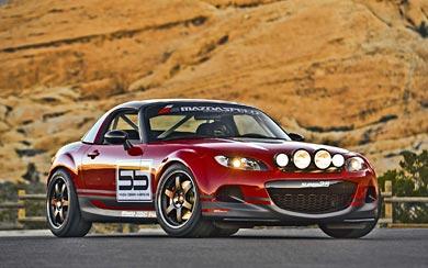 2012 Mazda MX-5 Super 25 Concept wallpaper thumbnail.