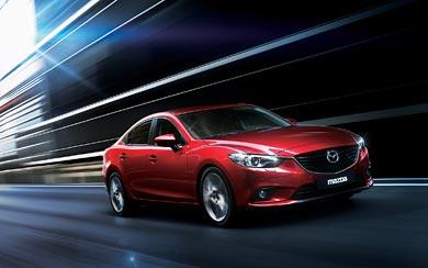 2013 Mazda 6 wallpaper thumbnail.