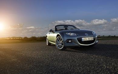 2013 Mazda MX-5 wallpaper thumbnail.