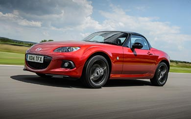 2014 Mazda MX-5 25th Anniversary wallpaper thumbnail.