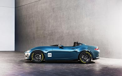 2015 Mazda MX-5 Speedster Concept wallpaper thumbnail.
