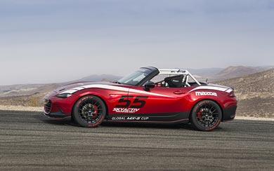 2016 Mazda Global MX-5 Cup Racecar wallpaper thumbnail.