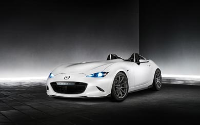 2016 Mazda MX-5 Speedster Evolution Concept wallpaper thumbnail.