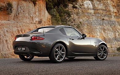 2017 Mazda MX-5 RF wallpaper thumbnail.