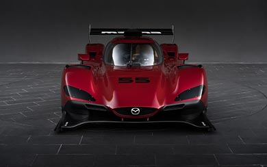 2017 Mazda RT24-P Racecar wallpaper thumbnail.