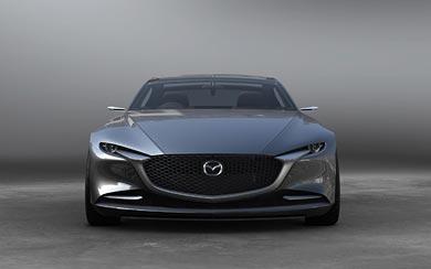 2017 Mazda Vision Coupe Concept wallpaper thumbnail.