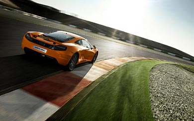 2012 McLaren MP4-12C wallpaper thumbnail.
