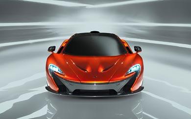 2012 McLaren P1 Concept wallpaper thumbnail.