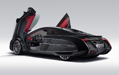 2012 McLaren X-1 Concept wallpaper thumbnail.