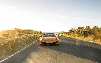 2013 McLaren MP4-12C Spider wallpaper thumbnail.