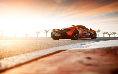 2013 McLaren P1 Concept wallpaper thumbnail.