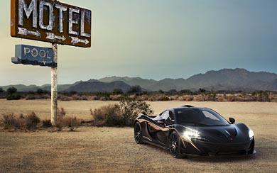 2014 McLaren P1 wallpaper thumbnail.