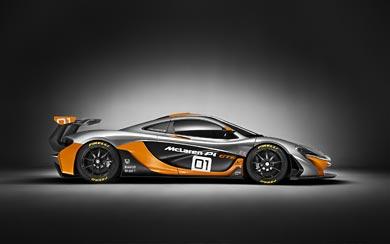 2014 McLaren P1 GTR Concept wallpaper thumbnail.