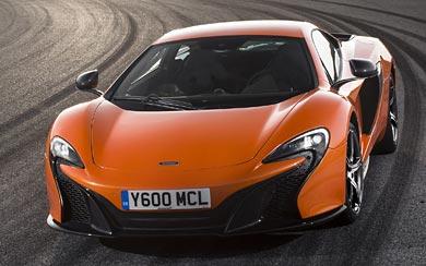 2015 McLaren 650S wallpaper thumbnail.