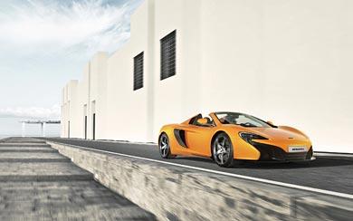 2015 McLaren 650S Spider wallpaper thumbnail.