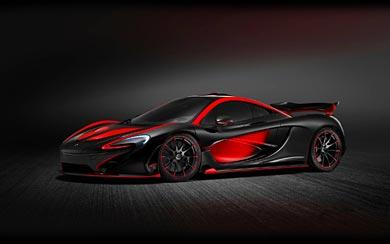 2015 McLaren P1 MSO wallpaper thumbnail.