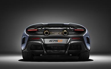 2016 McLaren 675LT MSO wallpaper thumbnail.