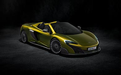 2017 McLaren 675LT Spider wallpaper thumbnail.