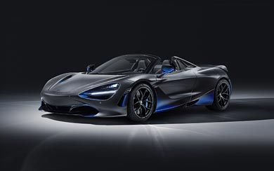 2019 McLaren 720S Spider by MSO wallpaper thumbnail.