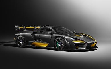 2019 McLaren Senna Carbon Theme by MSO wallpaper thumbnail.