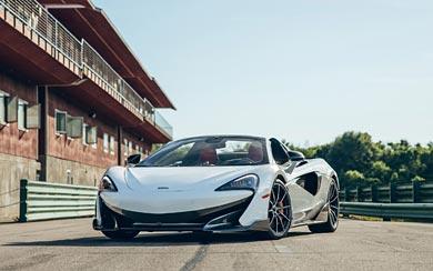 2020 McLaren 600LT Spider wallpaper thumbnail.