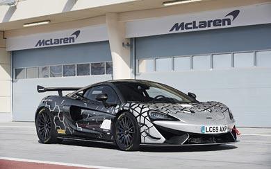 2020 McLaren 620R wallpaper thumbnail.