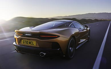 2020 McLaren GT wallpaper thumbnail.